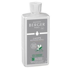 Parfum anti moustique vent d'océan pour Lampe Berger 500 ml 150056