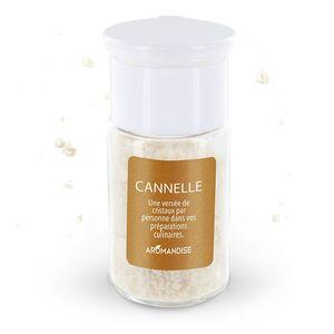 Cristaux d'huiles essentielles à la cannelle bio en boite de 10 g 154025
