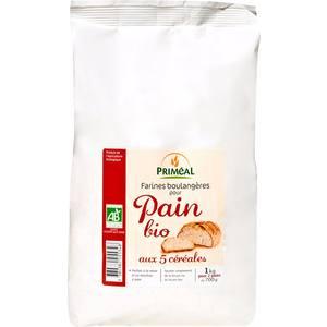 Pain bio 5 céréales 1 kg 154480