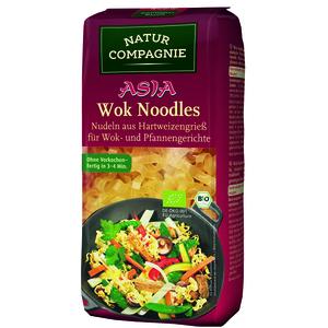 Nouilles pour wok bio en sachet rouge de 250 g 155530