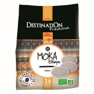 Dosett' souples Moka  100% arabica bio 250 g DESTINATION 155531