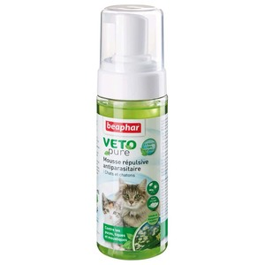 Mousse antiparasitaire chats/chatons Beaphar 155995