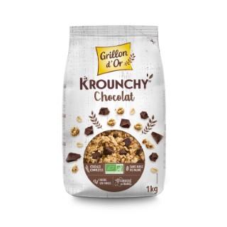 Krounchy chocolat bio 1 Kg 15601
