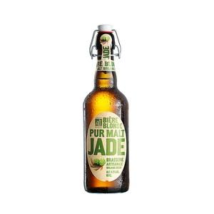 Biere blonde 65. La bouteille de 65cl LA JADE 158609