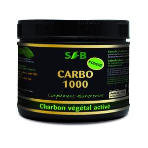 Charbon végétal activé en poudre 150g 158612