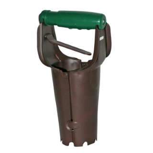 Plantoir à bulbes automatique marron 159302