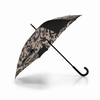 Parapluie Taupe octogonal 85x90x85 cm 160683