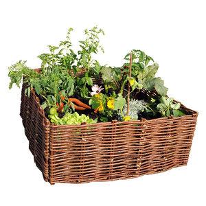bac potager et jardini re sur pieds botanic carr potager en bois bac jardin osier et