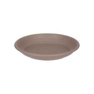 Soucoupe ronde 14 cm taupe ELHO 165336