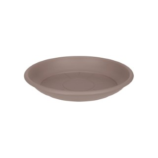 Soucoupe ronde 24 cm taupe ELHO 165341