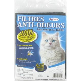 Filtres anti-odeurs universel 167290