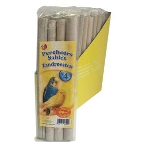 Couvre-perchoirs sablés 20,5 cm x 4 167357