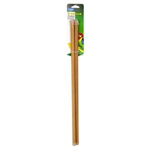 Perchoirs en bois x 2 taille M Ø1,2x45 cm 167362