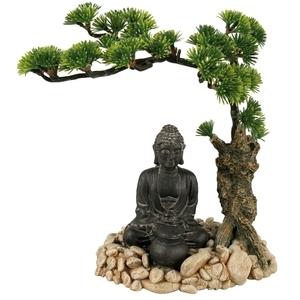 Décor avec diffuseur bouddha et bonzaï L14,5xl12xh20 cm 168154