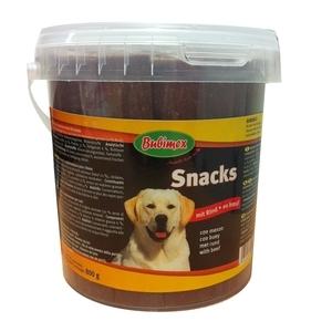 Pot de friandises extrudées au bœuf Bubimex 800 g 170712