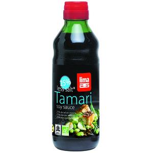 Tamari allégé en sel en bouteille de 250 ml 170796