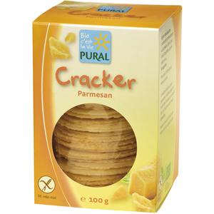 Crackers sans gluten au parmesan 100 g 170797