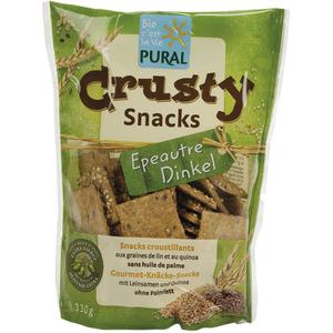 Crusty snacks à l'épeautre en sachet de 110 g 170802