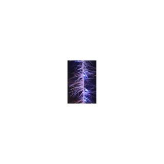 Guirlande lumineuse glaçons et fibres led bleu 150 cm 171028