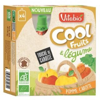 Fruits et légumes Cool bio pomme carotte 4 x 90 g 171300