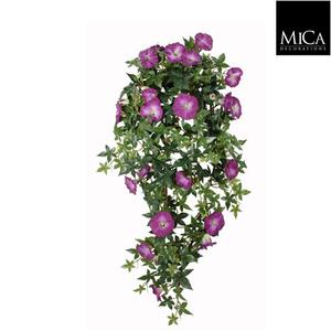 Chute de Liseron violet plante artificielle 80x20x15 cm 174657
