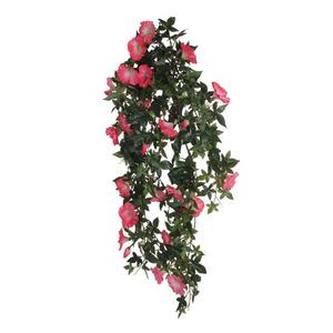 Chute de Liseron fuchsia plante artificielle 80x20x15 cm 174658