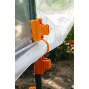 Clips tuteurs arceaux coloris orange Ø 13 mm 175009
