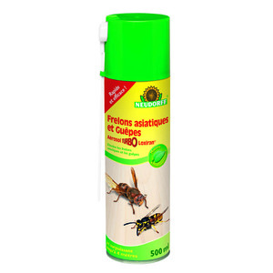 Aérosol frelon asiatique et guêpes Turbo 500 ml 175069