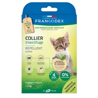 Collier insectifuge pour chaton 35 cm 175363