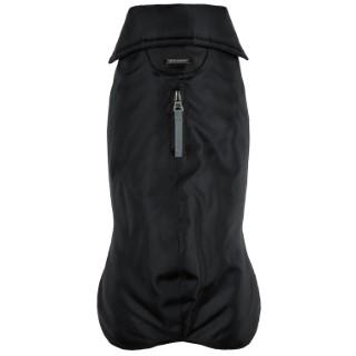 Manteau imperméable pour chien noir polyester Wouapy – Taille 44 178351