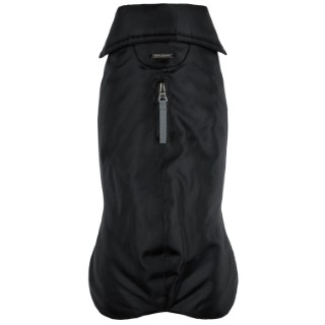 Manteau imperméable pour chien noir polyester Wouapy – Taille 48 178393