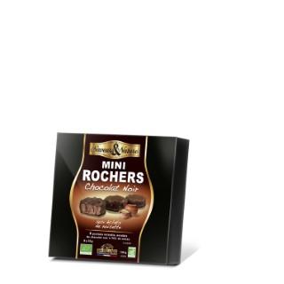 9 mini rochers praliné noisette chocolat noir 135 g 182720