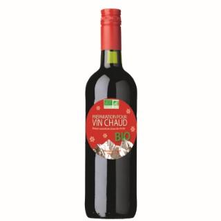 Vin chaud bio en bouteille de 75 cl 183357