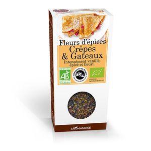 Fleurs d'épices pour crêpes et gâteaux - 35 gr 183396