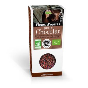Fleurs d'épices chocolat 40 g 183397