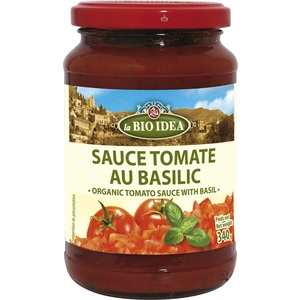Sauce tomate basilic 340 g 183745