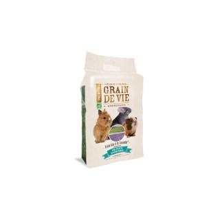 Foin bio à la lavande petits mammifères Grain de vie® - 25L 185962