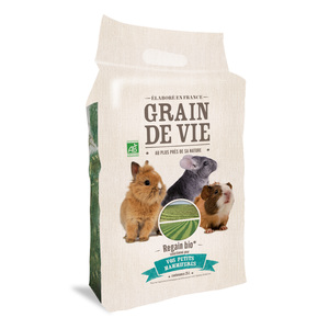 Regain bioFoin pour rongeurs Regain Bio Grain de Vie en sac de 25 L 187383