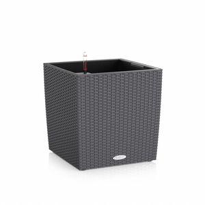 Pot Cube 40cm Cottage kit complet D.40x H39 cm Lechuza 188122