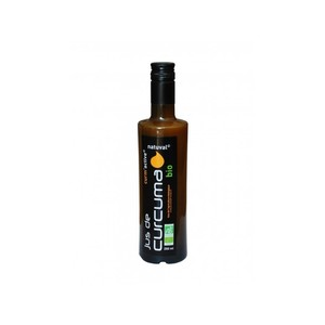 Jus de curcuma bio en bouteille de 250 ml 189041