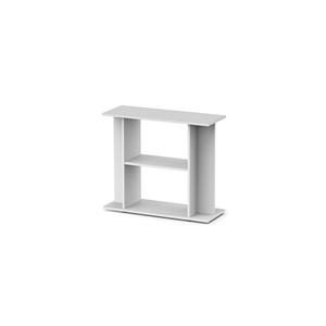 Meuble standard 80 blanc pour aquarium 80 x 30 x 70 cm for Meuble 80x30