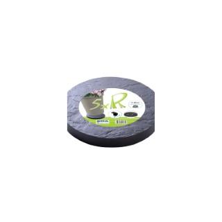 Roule pot rond 30 cm décor pierre ardoise 189188