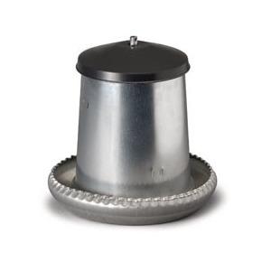 Mangeoire trémie en acier galvanisé de 5 kg Ø 31 cm 19086
