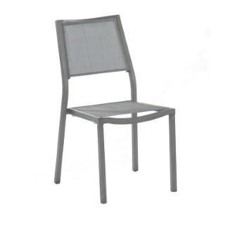 Chaise de jardin en alu Ice grise 196979
