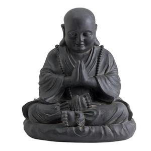 Statue de jardin happy Bouddha 28,5 x 27 x 48 cm 197822