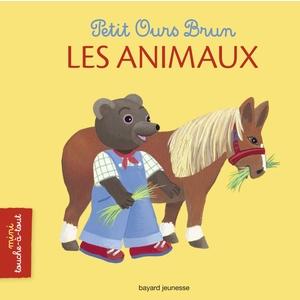 Les Animaux Petit Ours Brun mini Touche à Tout Bayard Jeunesse (1 à 3 ans) avec dans la description une notice: Ne convient pas aux moins de 36 mois!! 198150