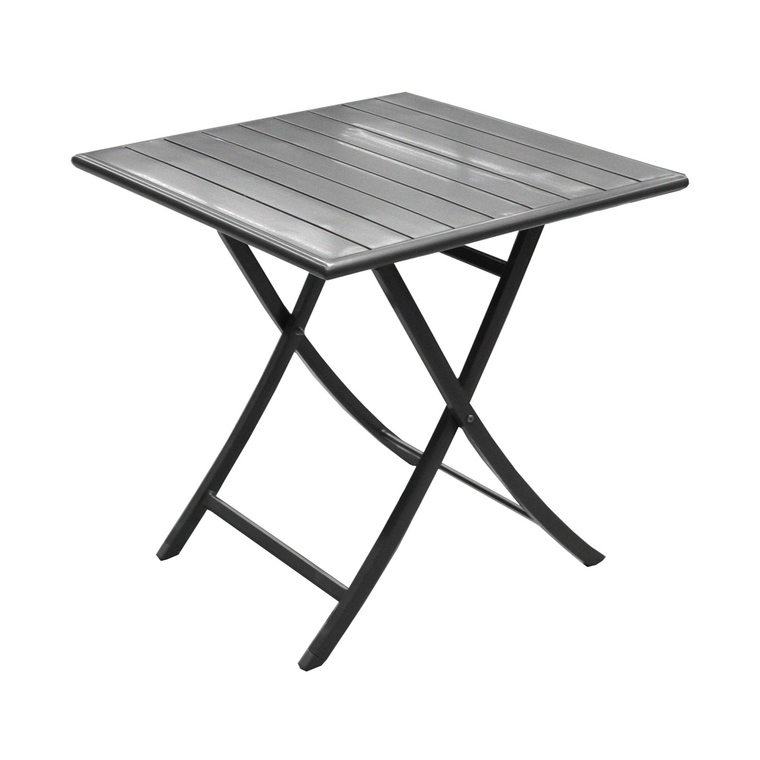 Table de jardin Max carrée 70x70 cm : Tables de jardin ...