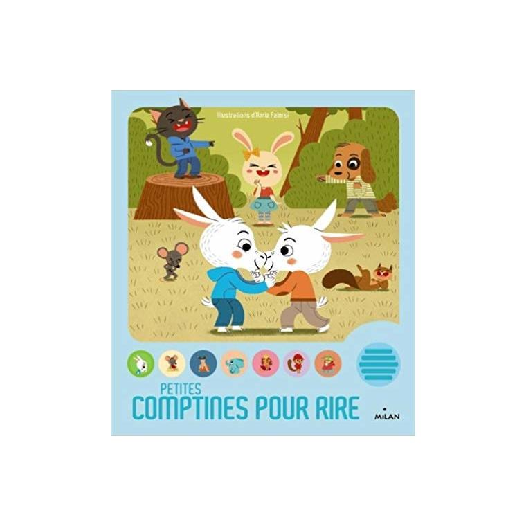 Petites Comptines pour Rire Contes et Comptines à Toucher dès 1 an Éditions Milan 100253