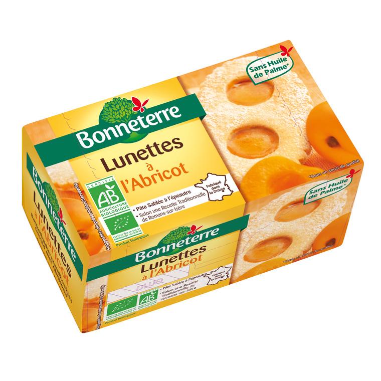Lunettes à l'abricot 200 g BONNETERRE 100312