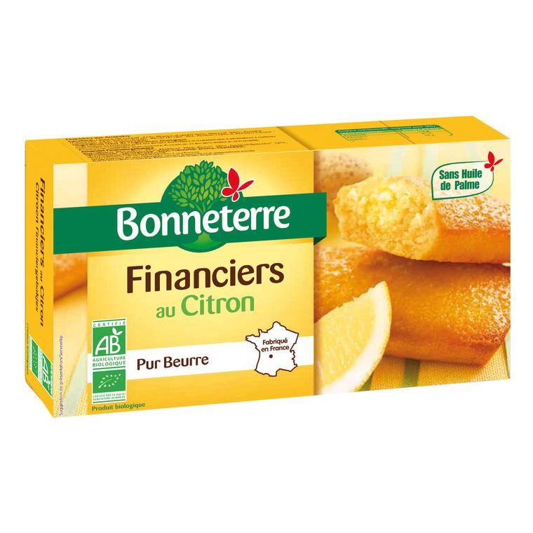 Financiers au citron pur beurre 150 g 100314